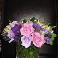Reception, Flowers & Decor, purple, Centerpieces, Flowers, Centerpiece, Les fleurs de vie