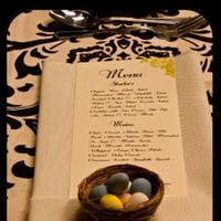 Reception, Flowers & Decor, Favors & Gifts, green, brown, Favors, Bird, Nest, Theme, A modern proposal event planning
