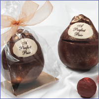 Favors & Gifts, Favors, Chocolate, By, Lisa, Truffles, High-end, Eatibles, The perfect pair
