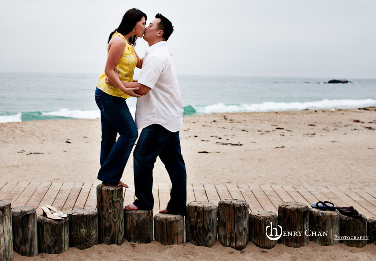 Beach, Engagement, Laguna, Henry chan photography