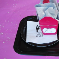 Favors & Gifts, white, pink, black, silver, favor, Bridal, Shower