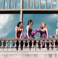 Reception, Flowers & Decor, Bridesmaids, Bridesmaids Dresses, Fashion, purple, Kristina hill photography