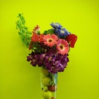 Reception, Flowers & Decor, pink, red, purple, green, Flowers, Bouquet floral design