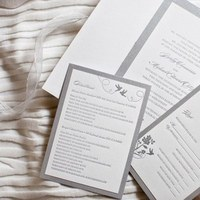 Stationery, Invitations, Subtle glances