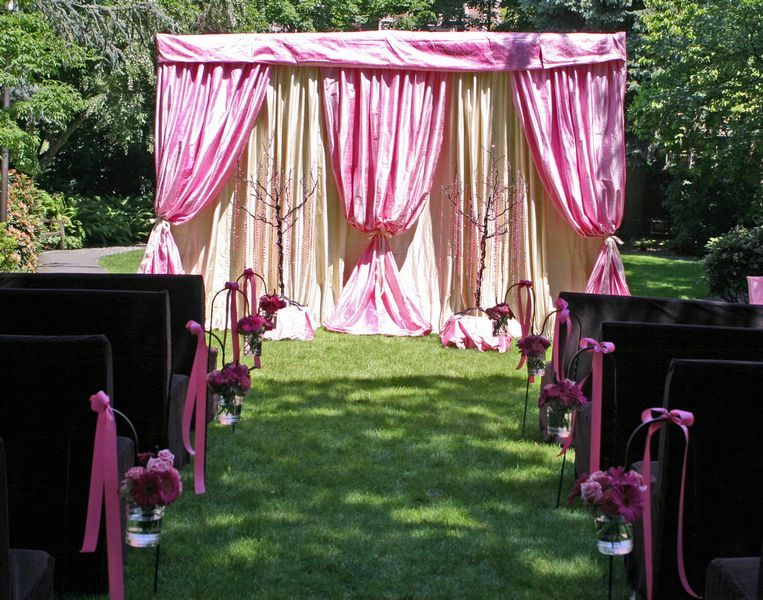 Ceremony, Reception, Flowers & Decor, white, pink, purple, green, Ceremony Flowers, Flowers, Stage, Dream day design