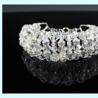 Jewelry, silver, Bracelets, Wedding, Bridal, Crystal, Bracelet, Swarovski, Everything angelic
