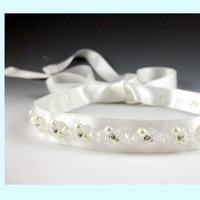 Beauty, Jewelry, white, Headbands, Wedding, Hair, Bridal, Ribbon, Headpiece, Headband, Everything angelic