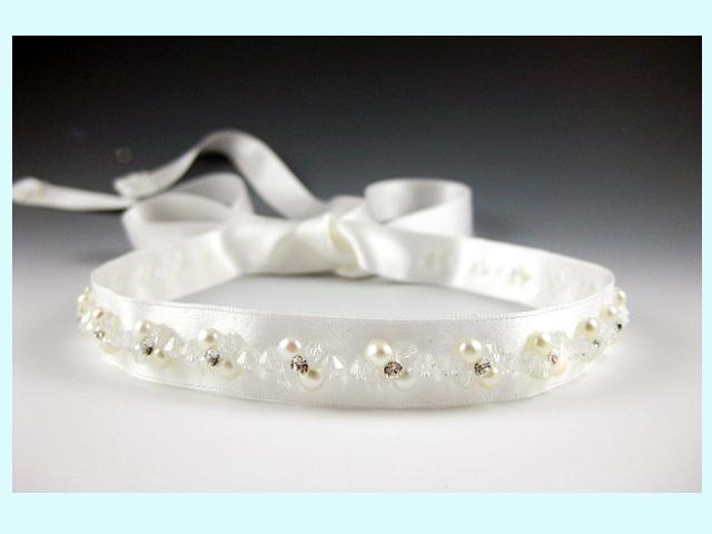 Beauty, Jewelry, white, Headbands, Wedding, Hair, Bridal, Ribbon, Headpiece, Headband, Everything angelic