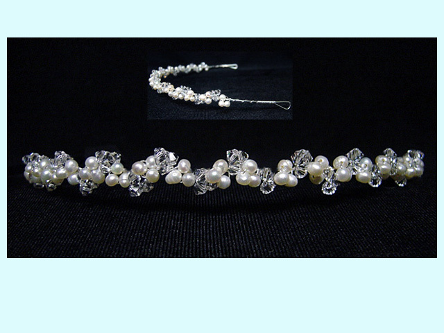 Beauty, Jewelry, white, silver, Tiaras, Headbands, Wedding, Hair, Bridal, Tiara, Headpiece, Headband, Everything angelic