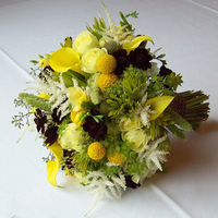 Flowers & Decor, white, yellow, green, brown, Bride Bouquets, Flowers, Bouquet, Floral verde llc, Chocolat