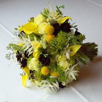 Flowers & Decor, white, yellow, green, brown, Bride Bouquets, Flowers, Bouquet, Floral verde llc, Chocolat