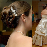 Beauty, Jewelry, white, silver, Wedding, Hair, Bridal, Headpieces