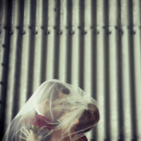 Beauty, Veils, Photography, Fashion, silver, Bride, Groom, Veil, Hair, Unique, Urban, Artsy, Hannahelaine photography