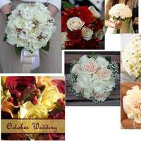 Inspiration, Flowers & Decor, ivory, red, Flowers, And, Champagne, Board, Cream, Berries, Inspirations, Coloured