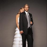 Fashion, white, black, silver, Men's Formal Wear, Tuxedo, President, President tuxedo