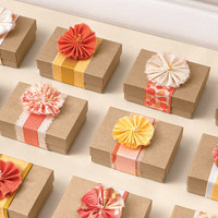 Reception, Flowers & Decor, Favors & Gifts, pink, brown, favor, Edible Wedding Favors, Edible, Boxes