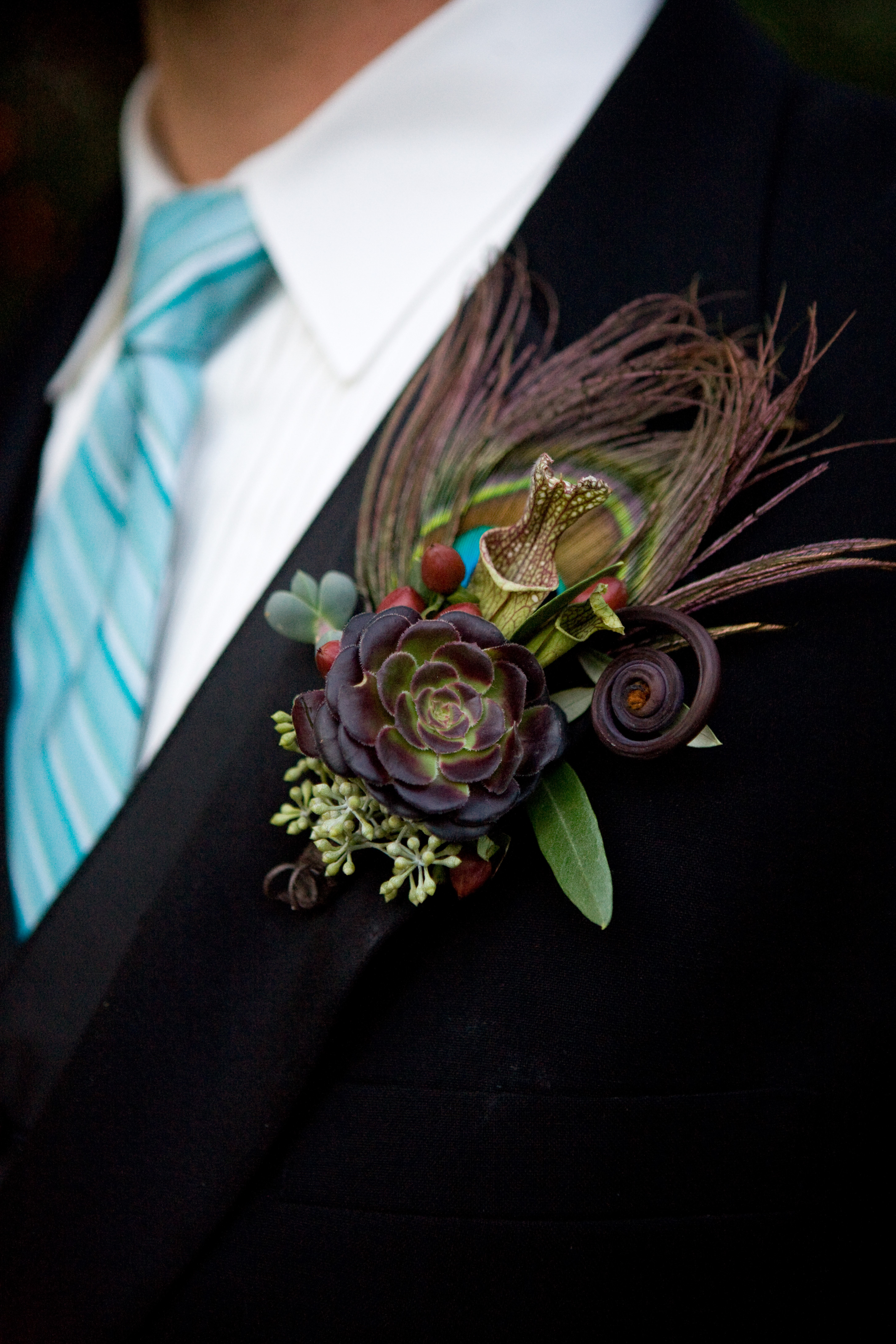 Flowers & Decor, blue, brown, Boutonnieres, Flowers, Boutonniere, Megan haney designs