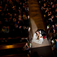 Ceremony, Flowers & Decor, Wedding Dresses, Fashion, orange, red, gold, dress