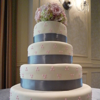 Cakes, pink, silver, cake, Ciao bella cakes