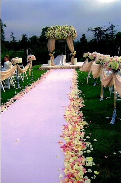 Ceremony, Planning, Flowers & Decor, white, pink, silver, gold, Ceremony Flowers, Flowers, Wedding, Girls, And, Event, Los, Angeles, Planners, Something, Something pink girls wedding event planning