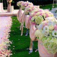 Ceremony, Flowers & Decor, pink, gold, Ceremony Flowers, Aisle Decor, Flowers, Wedding, Aisle, Club, Country, Something pink girls wedding event planning