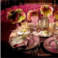 Reception, Flowers & Decor, white, pink, silver, gold, Centerpieces, Tables & Seating, Flowers, Centerpiece, Tables, Something pink girls wedding event planning