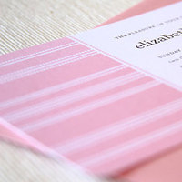 Stationery, pink, invitation, Modern, Modern Wedding Invitations, Invitations, Wedding, Maida vale