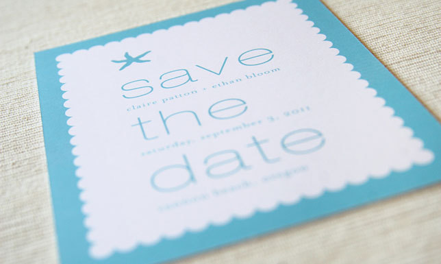 Stationery, Destinations, blue, Beach, Beach Wedding Invitations, Invitations, Save-the-Dates, Save the date, Wedding, Destination, Card, Maida vale