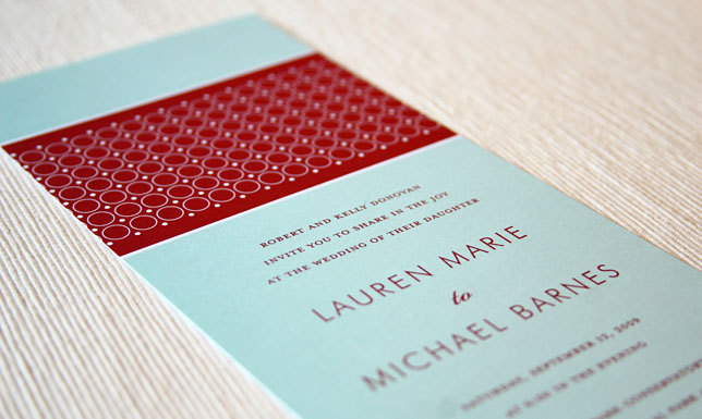 Stationery, red, blue, invitation, Modern, Modern Wedding Invitations, Invitations, Wedding, Maida vale