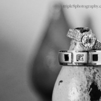 Jewelry, yellow, black, silver, gold, Ring shot, Triple 8 photography, La posada, Santa fe wedding