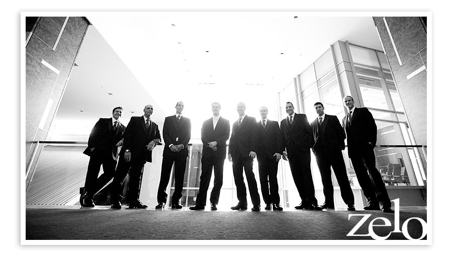 white, black, Groomsmen, Guys, Hotel, And, Rock, Hard, Zelo photography
