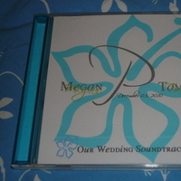 Favors & Gifts, favor, Wedding, Cd, Soundtrack