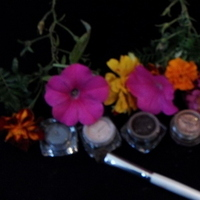 Beauty, brown, black, Makeup, Powder, Beautiful one cosmetics, Mica