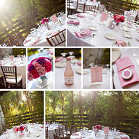 Reception, Flowers & Decor, pink, Centerpieces, Tables & Seating, Outdoor, Flowers, Wedding, Details, Design, Tables, Kim le photography, Decorations, Seating, Your, Own