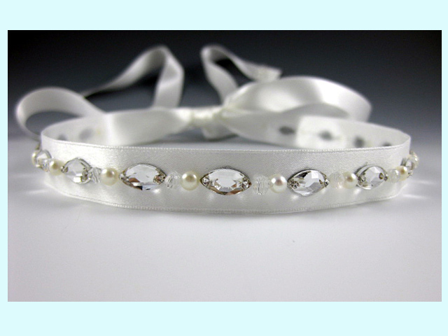 Beauty, Jewelry, white, silver, Tiaras, Headbands, Wedding, Hair, Bridal, Tiara, Ribbon, Headpiece, Headband, Everything angelic