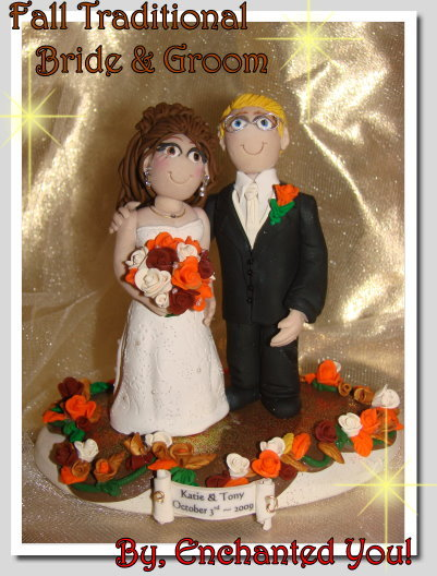 Inspiration, Reception, Flowers & Decor, Cakes, white, yellow, orange, pink, red, purple, blue, green, brown, black, silver, gold, cake, Flowers, Custom, Unique, Board, Wedding cake, Wedding cake topper, Personalised, Polymer caly, Enchantedyou