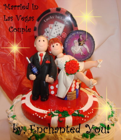 Inspiration, Reception, Flowers & Decor, Cakes, white, yellow, orange, pink, red, purple, blue, green, brown, black, silver, gold, cake, Flowers, Custom, Unique, Board, Las vegas, Wedding cake, Wedding cake topper, Personalised, Polymer caly, Enchantedyou