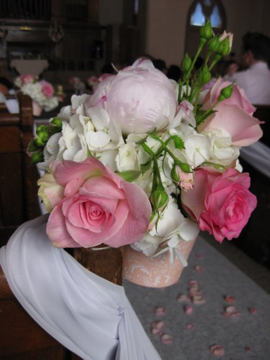 Ceremony, Reception, Flowers & Decor, white, pink, Ceremony Flowers, Flowers, Cathyswraps