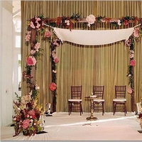 Ceremony, Flowers & Decor, pink, brown, Ceremony Flowers, Flowers, Chuppah, Alter, One sweet affair