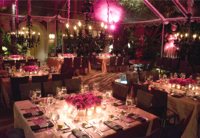 Reception, Flowers & Decor, pink, black, Flowers, One sweet affair