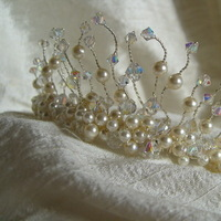 Beauty, Inspiration, Jewelry, Bridesmaids, Bridesmaids Dresses, Wedding Dresses, Fashion, white, yellow, orange, pink, red, purple, blue, green, brown, black, silver, gold, dress, Tiaras, Accessories, Hair, Bridal, Tiara, Board, Jewellery, Eden tiaras