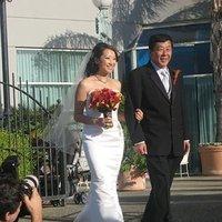 Beauty, Ceremony, Flowers & Decor, orange, red, gold, Ceremony Flowers, Flowers, Hair