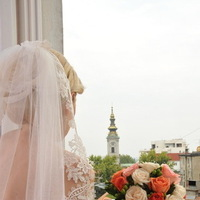 Flowers & Decor, white, orange, Flowers