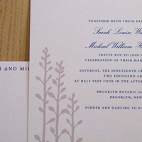 Stationery, silver, Invitations, Lauramacchia