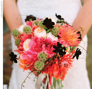 Flowers & Decor, pink, black, Flowers, Bouquets