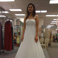 Reception, Flowers & Decor, Wedding Dresses, Fashion, white, dress