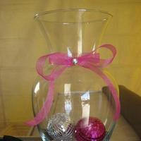 Reception, Flowers & Decor, pink, black, silver, Bar, Decoration