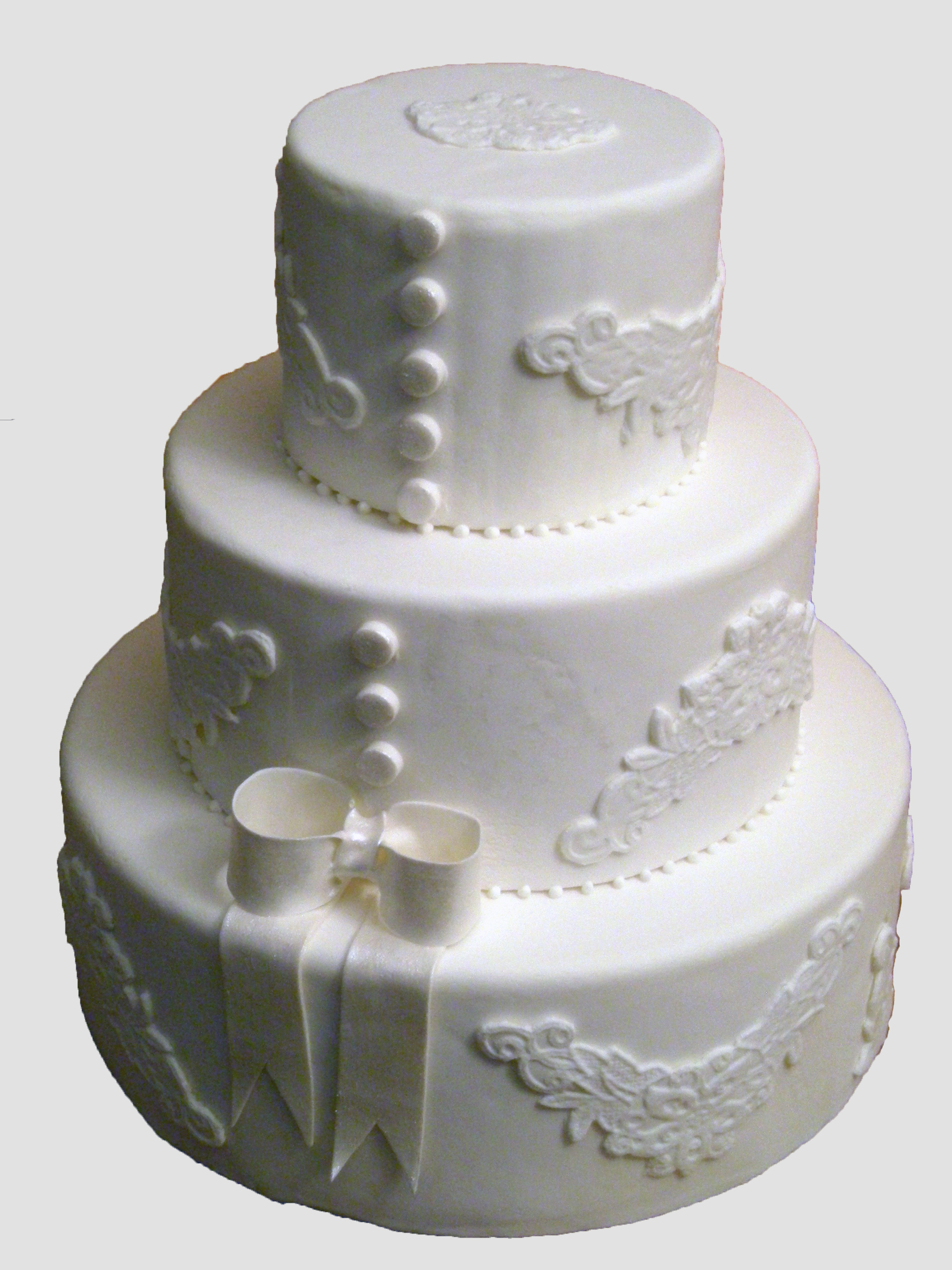 Cakes, white, cake, Classic, Classic Wedding Cakes, Wedding, Lace, Bows, Pastry girl cakes