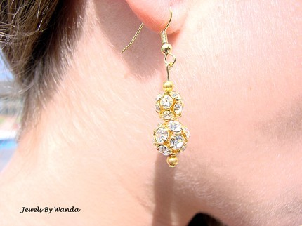 Jewelry, white, yellow, gold, Earrings, Engagement Rings, Rings, Ring, Crystal, Ear, Earring, Etsy jewels by wanda