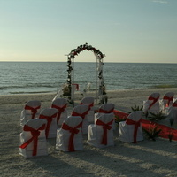 Ceremony, Flowers & Decor, Beach, Beach Wedding Flowers & Decor, Weddings, Florida, A tailored event